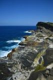 Biri Rock Formations. Rock formations of Biri, Northern Samar, Philippines Stock Photos