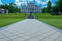 Birini slott latvia Royaltyfri Fotografi