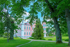 Birini slott latvia Fotografering för Bildbyråer