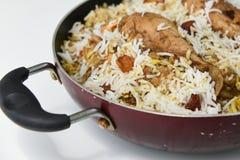 biriyani de poulet Image stock