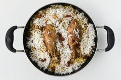 biriyani del pollo Foto de archivo