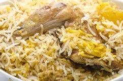 Biriyani saboroso da galinha Foto de Stock Royalty Free