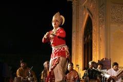 birju舞蹈组kathak maharaj pandit 免版税库存图片