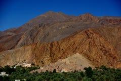 Birkat Al Mawz View Fotografia de Stock Royalty Free