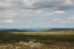 Birkebeinervegen Noruega Foto de archivo