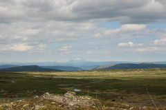 Birkebeinervegen Norway Stock Photo