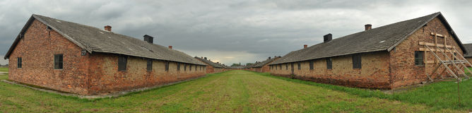 Birkenau Royalty Free Stock Photography