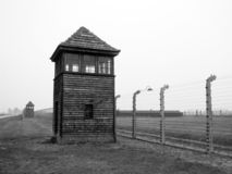 Birkenau auschvitz holocaust2 Royalty Free Stock Photos