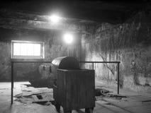 Birkenau auschvitz holocaust6 royalty-vrije stock afbeeldingen