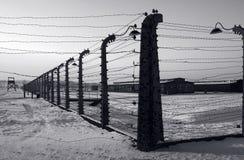 birkenau auschwitz Стоковая Фотография