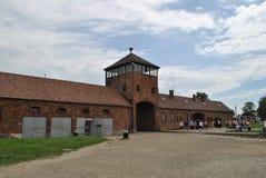 Birkenau, Brezinka/, duży koncentracyjny obóz w Polska Obraz Royalty Free