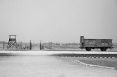 Birkenau, camp de concentration, Photo stock