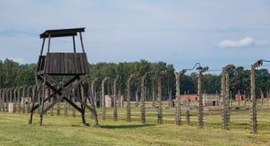 Birkenau cerca IV Fotos de archivo