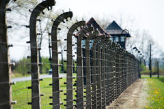 Birkenau Concentration Camp Stock Photo
