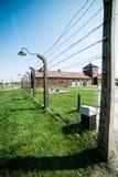 Birkenau Concentration Camp Stock Photo