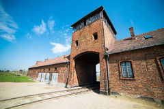 Birkenau Concentration Camp Royalty Free Stock Photo