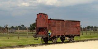Birkenau d'Auschwitz photographie stock libre de droits