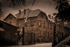 Birkenau d'Auschwitz Photographie stock