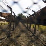 birkenau d'auschwitz Photos libres de droits