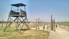 Birkenau de Auschwitz fotografía de archivo libre de regalías