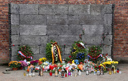 Birkenau de Auschwitz foto de stock royalty free