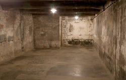 Birkenau di Auschwitz Fotografie Stock Libere da Diritti