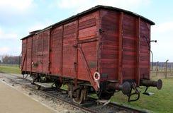 Birkenau di Auschwitz Immagine Stock
