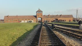 Birkenau Lager Lizenzfreie Stockfotografie