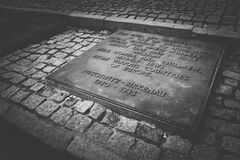 Birkenau Memorial Royalty Free Stock Photo