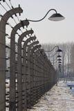Birkenau Nazi Concentration Camp - Poland stock image