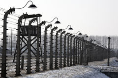 Birkenau Nazi Concentration Camp - Poland Royalty Free Stock Photography