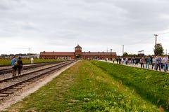 Birkenau Stock Image