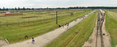 Birkenau panorama Royalty Free Stock Photos