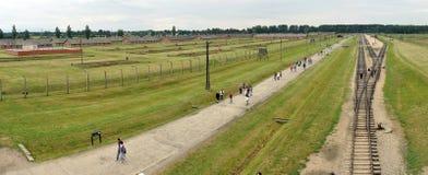Birkenau panorama Royalty Free Stock Photos