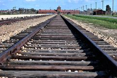 Birkenau Polen Arkivbild