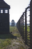 Birkenau concentration camp Royalty Free Stock Photos
