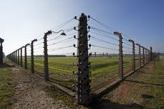 birkenaulägerkoncentration Arkivbild