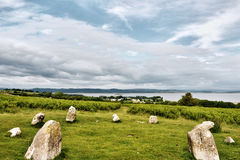 Birkrigg stone circle Stock Photos