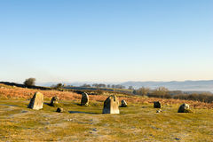 Birkrigg stone circle Royalty Free Stock Photos
