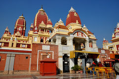 Birla Mandir eller tempel, Delhi Royaltyfria Foton