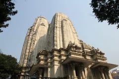 Birla Mandir Hindu Temple in Kolkata. West Bengal in India as seen on Nov 30, 2012. It is one of the largest Hindu temples in Kolkata stock image