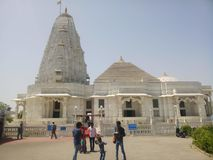 Birla Mandir Jaipur Indien arkivbild