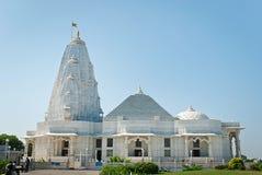 Birla Mandir (Laxmi Narayan) är en hinduisk tempel i Jaipur, Indien royaltyfria bilder