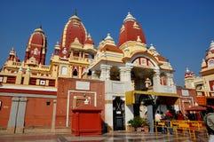 Birla Mandir o tempio, Delhi Fotografie Stock Libere da Diritti