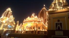 Birla tempel fotografering för bildbyråer