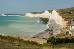 Birling Gap in East Sussex, England Royalty Free Stock Image