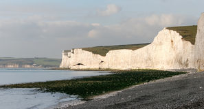 BIRLING GAP, EAST SUSSEX/UK - NOVEMBER 2 : View from Birling Gap Royalty Free Stock Photos