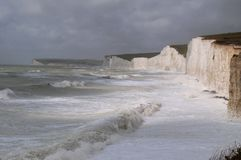 Birling Gap, English Beach Sussex Royalty Free Stock Images