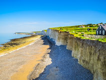 Birling Gap and Seven Sisters National Park Stock Photo