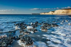 Birling Gap - Seven Sisters Royalty Free Stock Photography